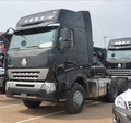 HOWO A7 6x4 Trailer Tractor Truck For Ghana