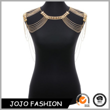 Hot wholesale cheap body chain ring bra chain body jewelry