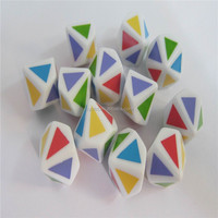 Promotion custom engrave color dice