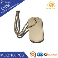 laser print pet dog tags stainless steel silencer