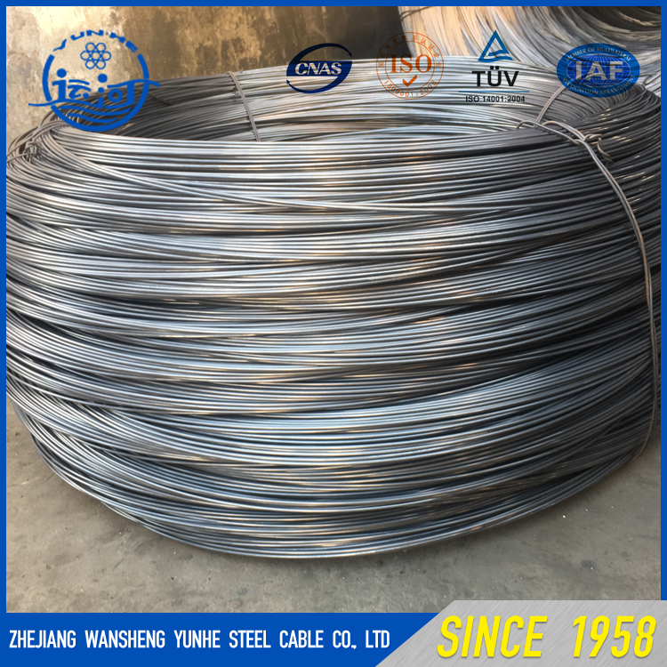 Prime Quality Competitive Price 6mm Diameter Galvanized Steel Wire for make nails