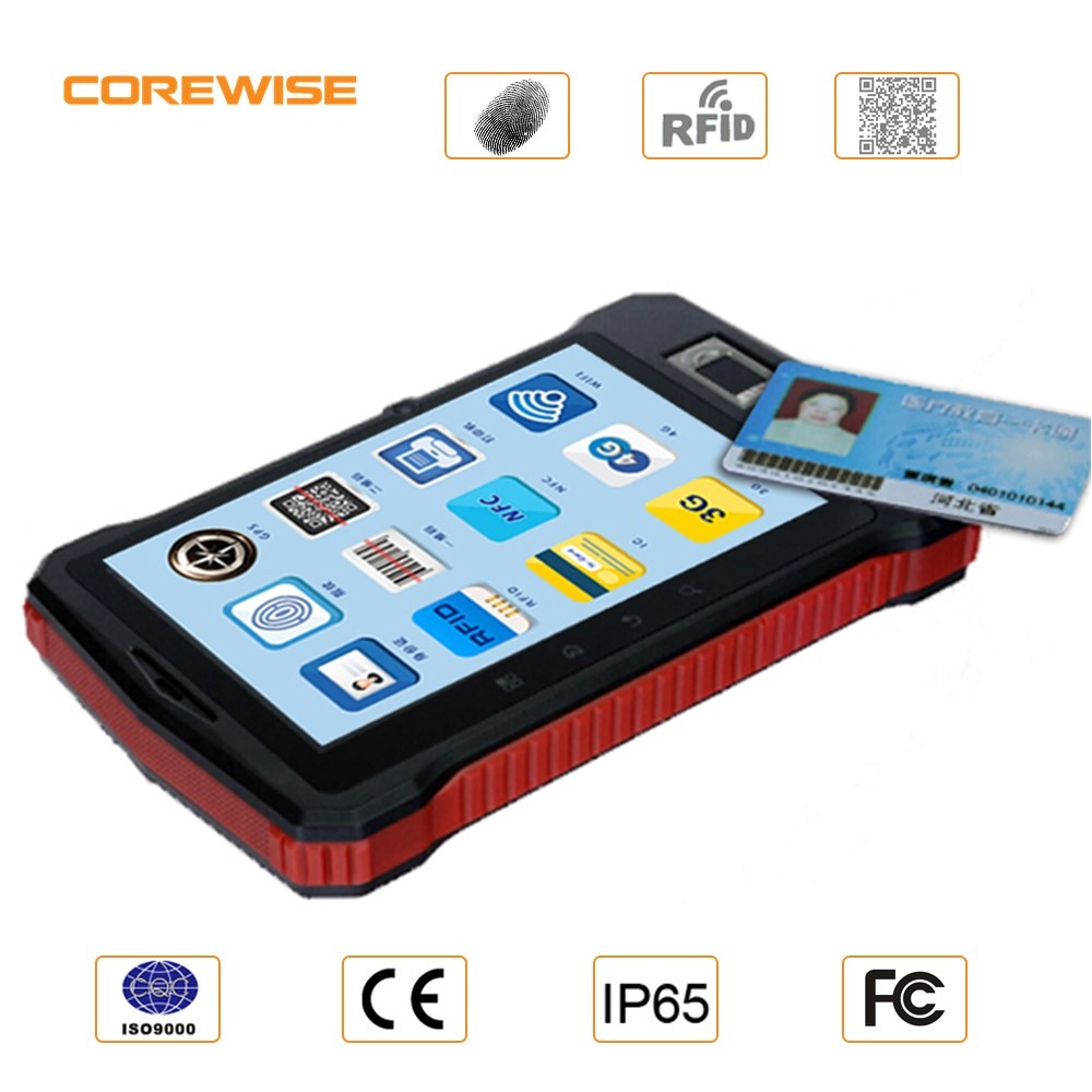 2016 THE Latest Rugged Tablet PC 7 inch Capacitive Touch Screen Android OS 4G LTE unlock SIM Card with GPS NFC RFID Reader