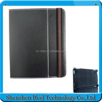 leather case cover for 8 inch tablet pc Magic sticker hook leather case for Android tablet new hot product design