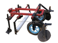 mulch applicator for peanut, potato and tabacco