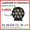 NSSC New Arrival Wholesale Price Ip68 New 707W Car Led Tuning Light Led Work Light