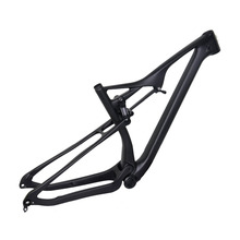 Best selling full suspension DI2 mountain MTB chinese carbon 29er frame with fork travel 110*15mm M06