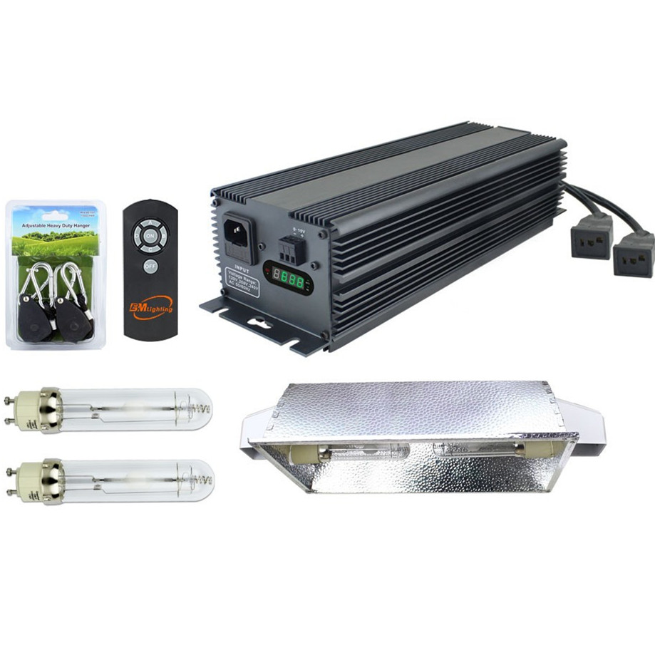 complete hydroponic system 630 watt double light CMH conversion kit