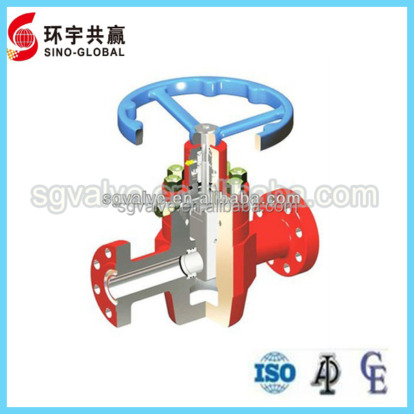API6A Non-rising Stem Gate Valve without the Balance Stem
