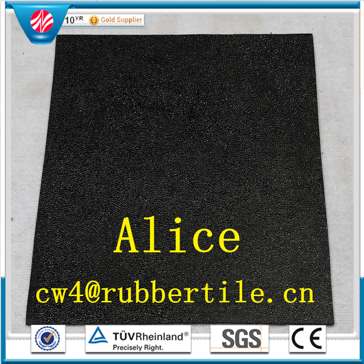 gymnastics floor tile/Interlocking rubber tiles/Outdoor rubber tile