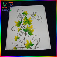 Transfer Printing Film Wall Panel Board PVC Garage Wall Panel