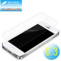 Anti-Broken For iPhone 5 5c 5s tempered glass screen protector