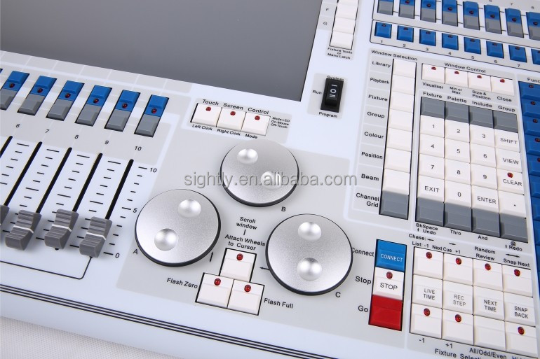 Version9.1Tiger touch DMX lighting controller ,lighting control touch panel