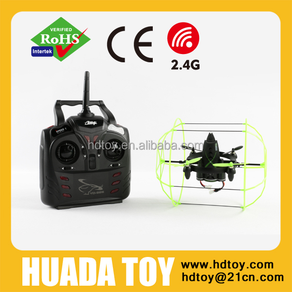 New Arriving 2.4G RC 4 Axis Skywalker Quadcopter RC UFO with Gyro and Wall Climbing Function