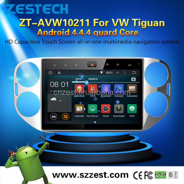 10.1inch Android 5.1 car multimedia for VW Tiguan 2010-2016 autoradio system with WiFi BT 3G android gps navigation player