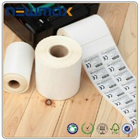 2015 top quality adhesive sticker thermal roll paper with free samples