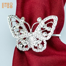 Butterfly Napkin Rings bulk wholesale napkin ring for party