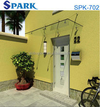 Hangzhou Spark High Quality Competitive Price Outdoor Glass Porch Canopy