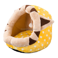Cute and practical dog cave bed cat kennel pp cotton pet bed dog bed bag