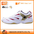 2018 professional badminton shoes indoor sports power cushion ergo shape tennis shoes wholesale OEM factory Ab3207