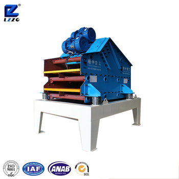 double deck TS dewatering screen with 30t per hour capacity