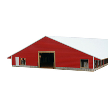 Low cost industrial shed steel structure building design poultry farm