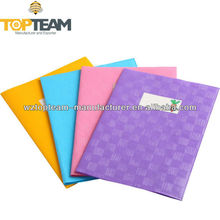 Clear / Embossed Plastic A4 A5 PVC Exercise Book Cover, Vinyl Book Cover For Back To School