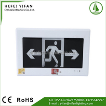 LED Emergency Exit Sign Any Language of Exit Letter