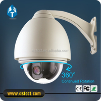 outdoor 6 inch 27X optical zoom analog camera 1/3 sony ccd mini speed dome camera