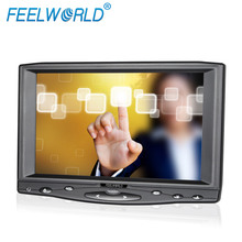 HDMI input small 7 inch lcd screen touch display digital vga input cctv monitor