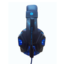 High quality gaming headset with microphone computer headphone with led light