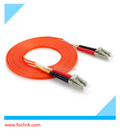 LC to LC OM2 Duplex 3 mtr Fiber Optic Patch Cord