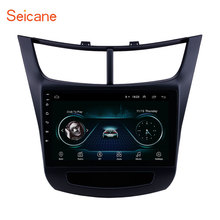 GPS Radio 9 Inch Android 8.1 Car Navigation System for 2015 2016 Chevy Chevrolet New Sail with Bluetooth Rearview Camera USB