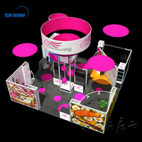 Trade show standard portable exhibits booth