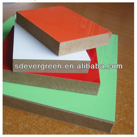 good quality polyester mdf with competitive price