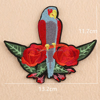 Super model fashion show embroidery patch French multicolore brodery