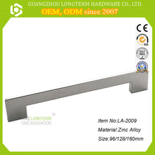 Zinc Spotless Die-cast Handle For Furniture Kicthen Cabinet