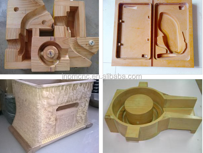 PM-1325E 3d sculpture cnc router for EPS foam, mould gunstock engraving