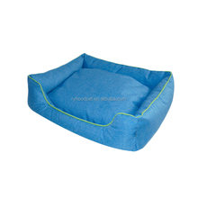 Hot new products dog beds large luxury with 600D oxford base