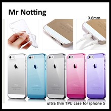 high quality mobile phone silicone phone case for iphone 5 ,clear phone case