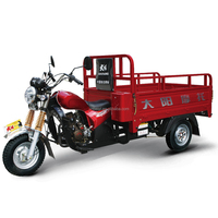 Best-selling Tricycle 150cc semi-enclosed cargo trike motorcycle 200cc made in china with 1000kgs loading Capacity