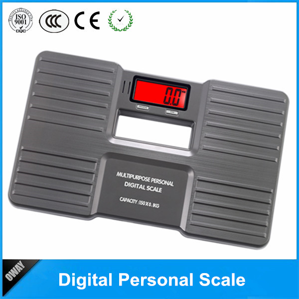 2016 new design 150kg digital wooden bathroom scales