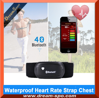 Smartphone Bluetooth 4.0 Heart Rate Receiver Sports Heart Rate Monitor BLE Heart Rate Chest Strap Band Fitness Belt