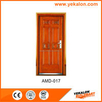 Yekalon AMD-017 wooden finish Armored door security vented steel door