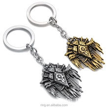 WOW Key Chain New Arrive Night Elf Tribe Key Rings For Gift Car Keychain Jewelry WOW Key Holder Souvenir