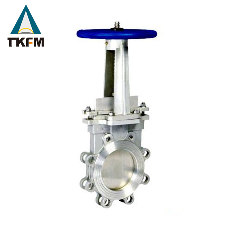 "TKFM cast iron bs 5163 6"" knife gate valve price list class 150/300/600"