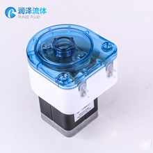 water meter flow rate controlled volume peristaltic pump