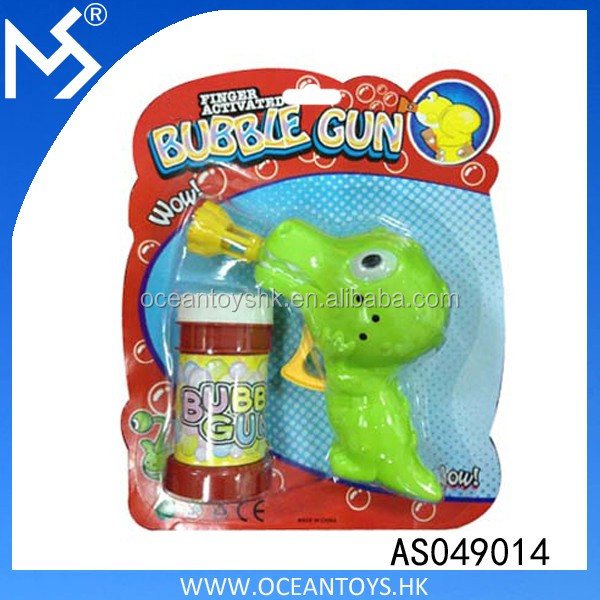 Summer Toys B/O Bubble Gun Toy Plastic Games Bubble Shooter