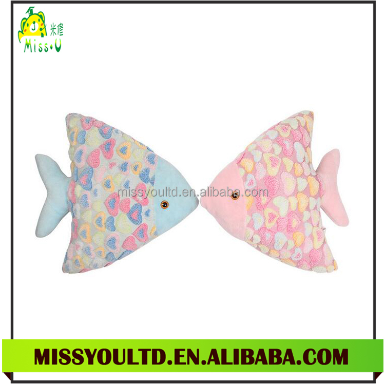 Free Sample New Design Fish Pattern Cushion/Pillow For Home Decor Fish Pillow From Factory