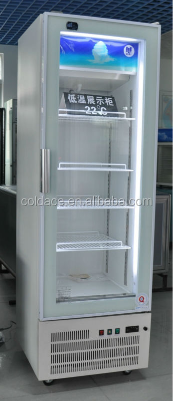 Stand up freezer for ice cream/Gelato display