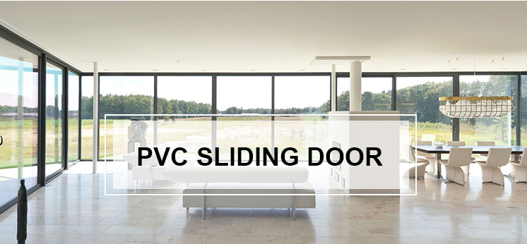 Foshan factory price pvc sliding door low price sliding patio door